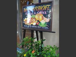 バナナフィッシュカフェ看板
